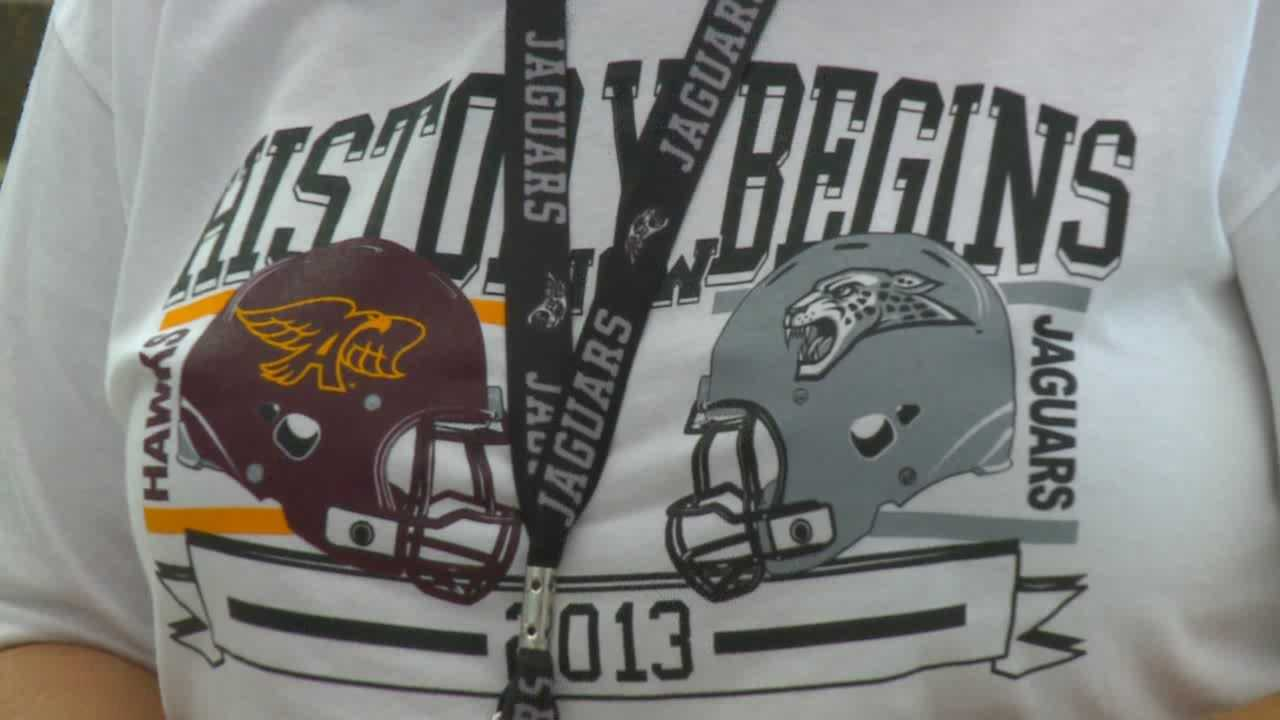Ankeny High School to battle the new Ankeny Centennial High School on Friday night.