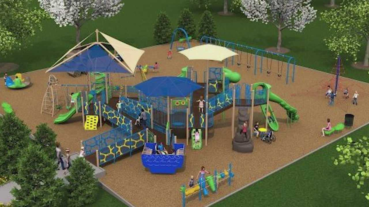 Fundraising is now underway to build the Ashley Okland playground, a place to help challenge children with special needs.