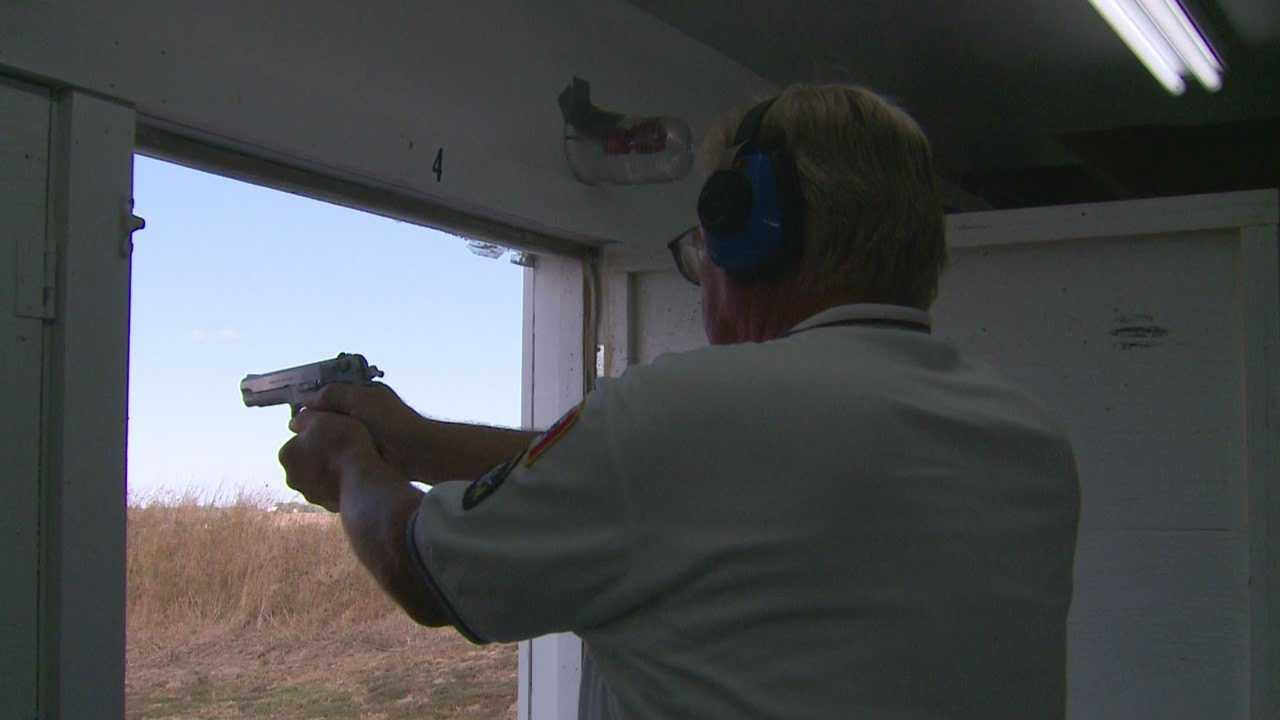 Some are criticizing Iowa's gun permit laws that allow blind people to get a gun permit.