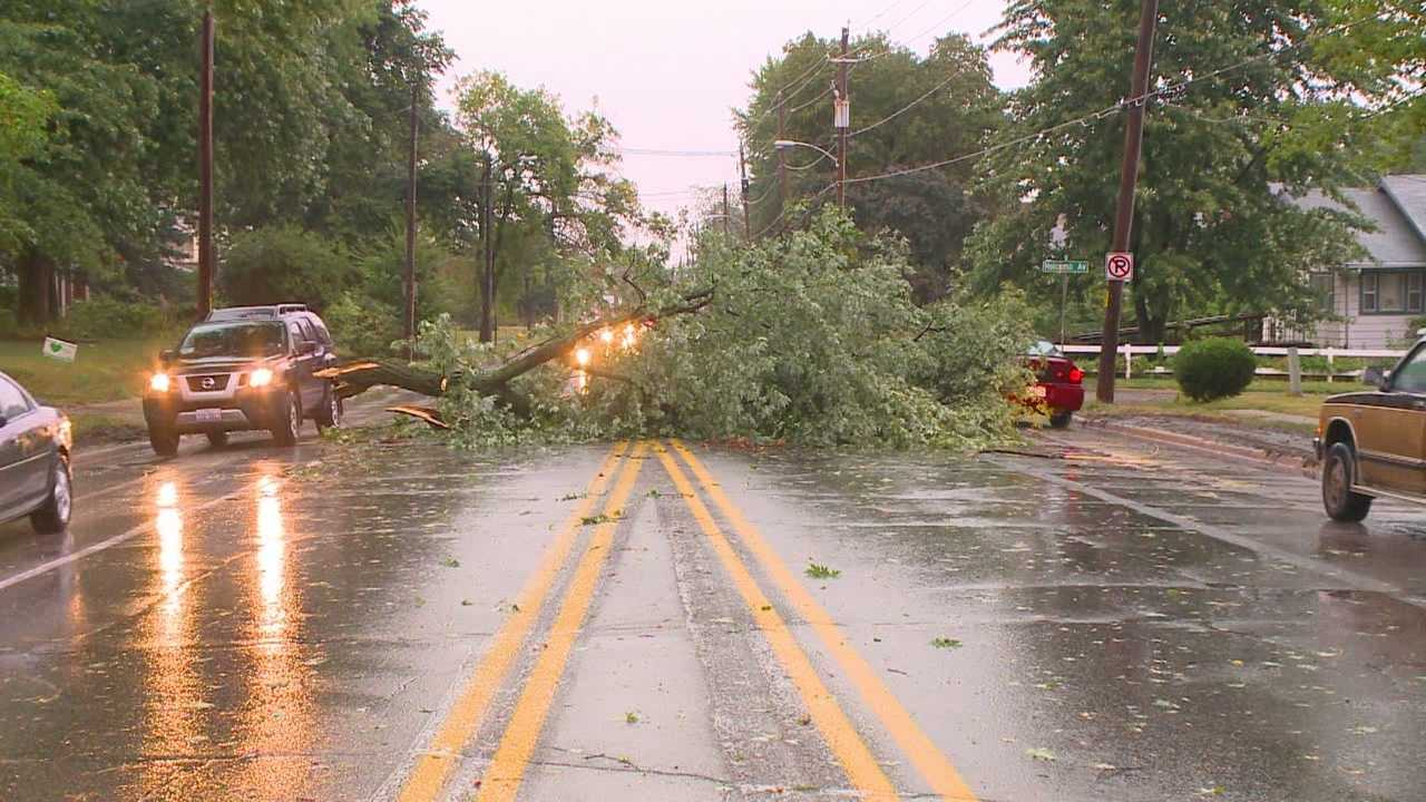 Storm damage makes for major clean-up