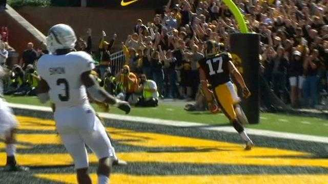 Hawkeyes react to blowout win