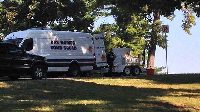 Bomb squad union park