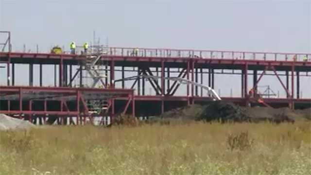 Facebook data center construction Altoona