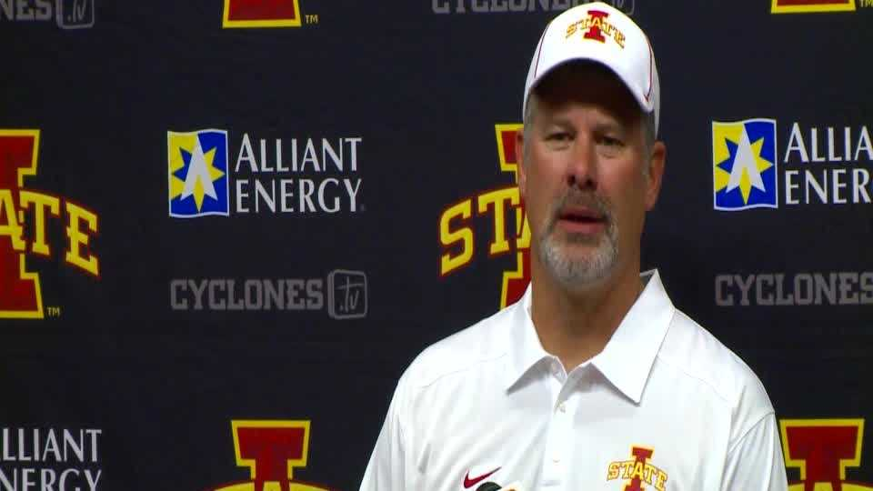 RAW - Paul Rhoads post-game press conference