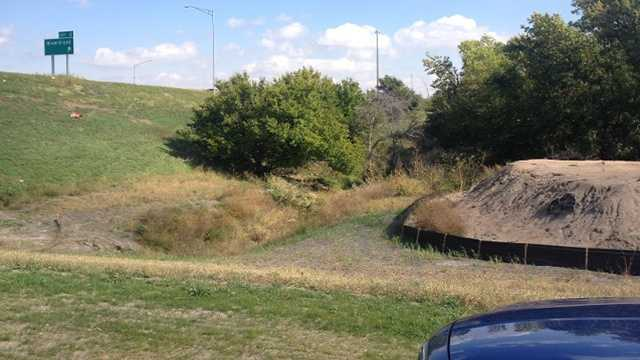 Human remains found in road ditch near Council Bluffs.