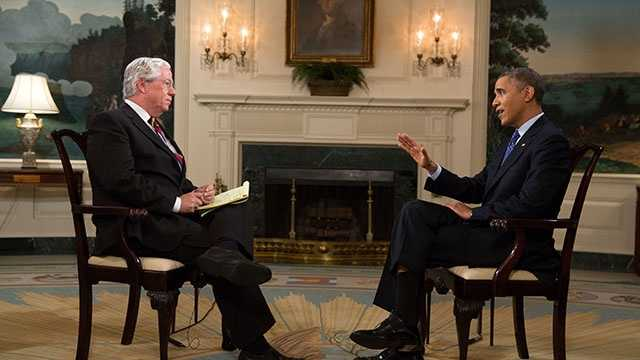 Kevin Cooney interviews President Barack Obama