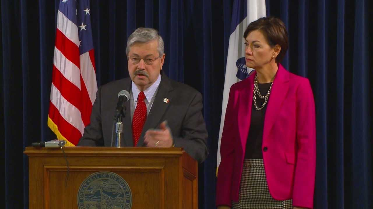 Branstad talks about an effort to catch and stop Medicaid errors.
