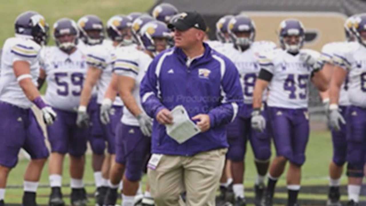 A former Ames High School and UNI football coach who was shot outside of a movie theater in Joplin, Mo., on Friday night died in a hospital.