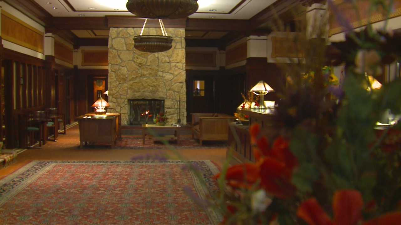 The historic hotel in Perry will reopen to guests on Tuesday.