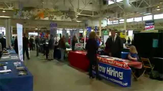Veterans job fair in Iowa