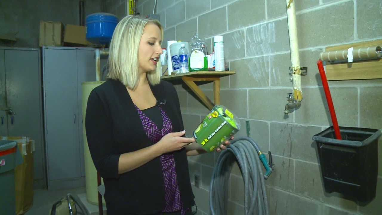 Kim St. Onge is trying a product that promises to help you when you're gardening or watering your lawn.