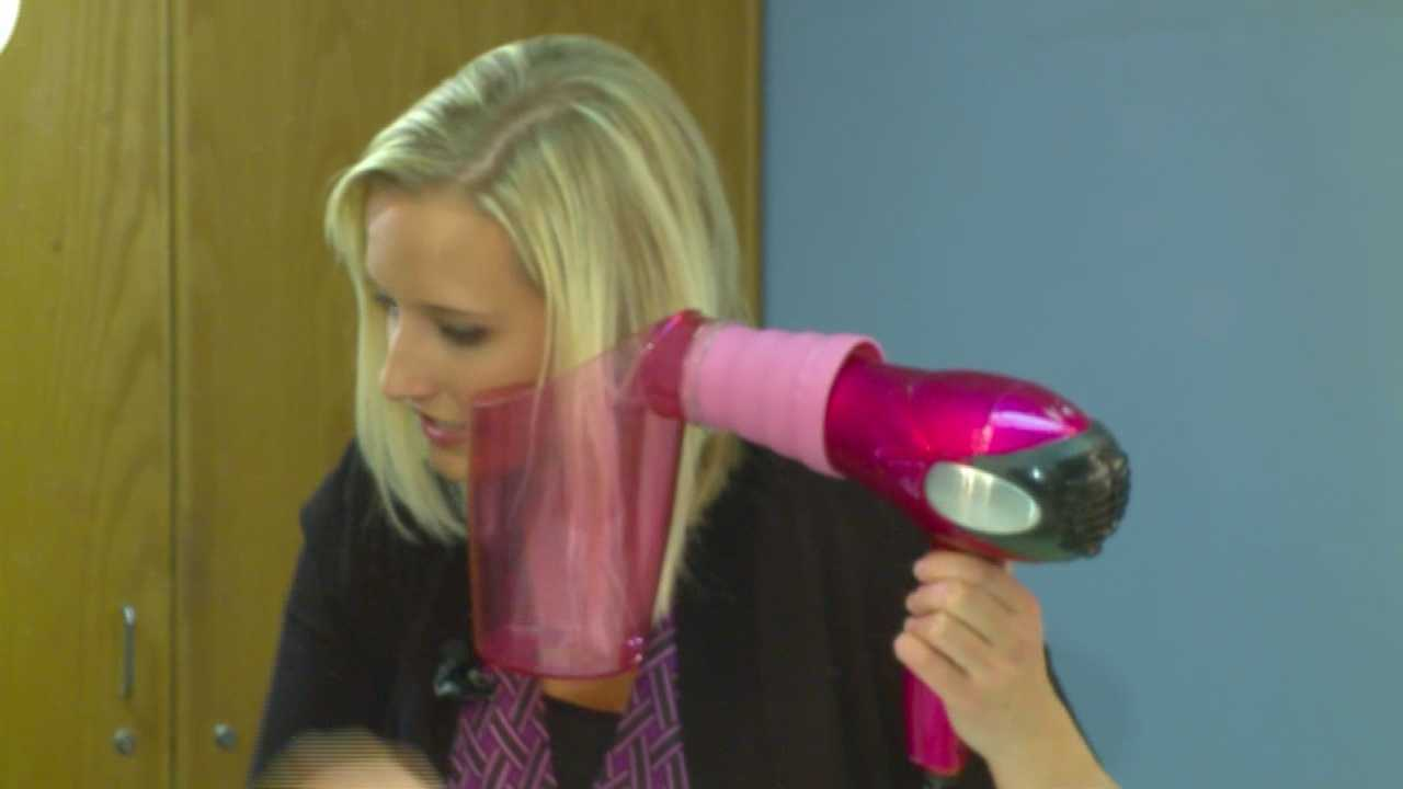 How would you like to save time getting ready in the morning and be able to dry and curl your hair at the same time?