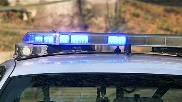Daytime police lights
