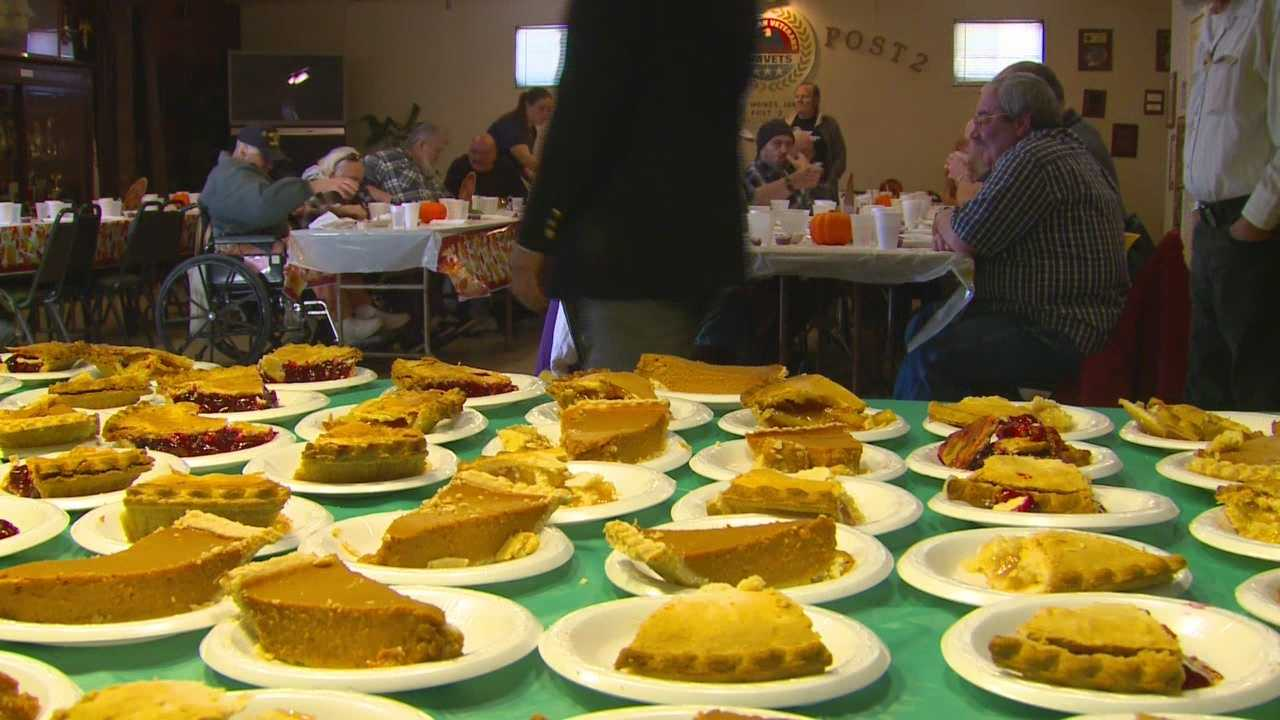 Thanksgiving came early for 73 veterans.