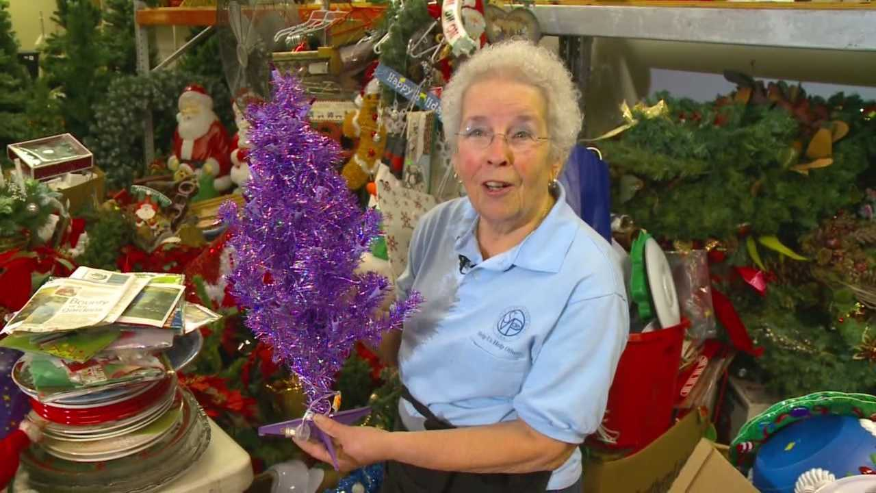 At St. Vincent de Paul, there's one woman who packs a whole lot of Christmas cheer into a tiny package.