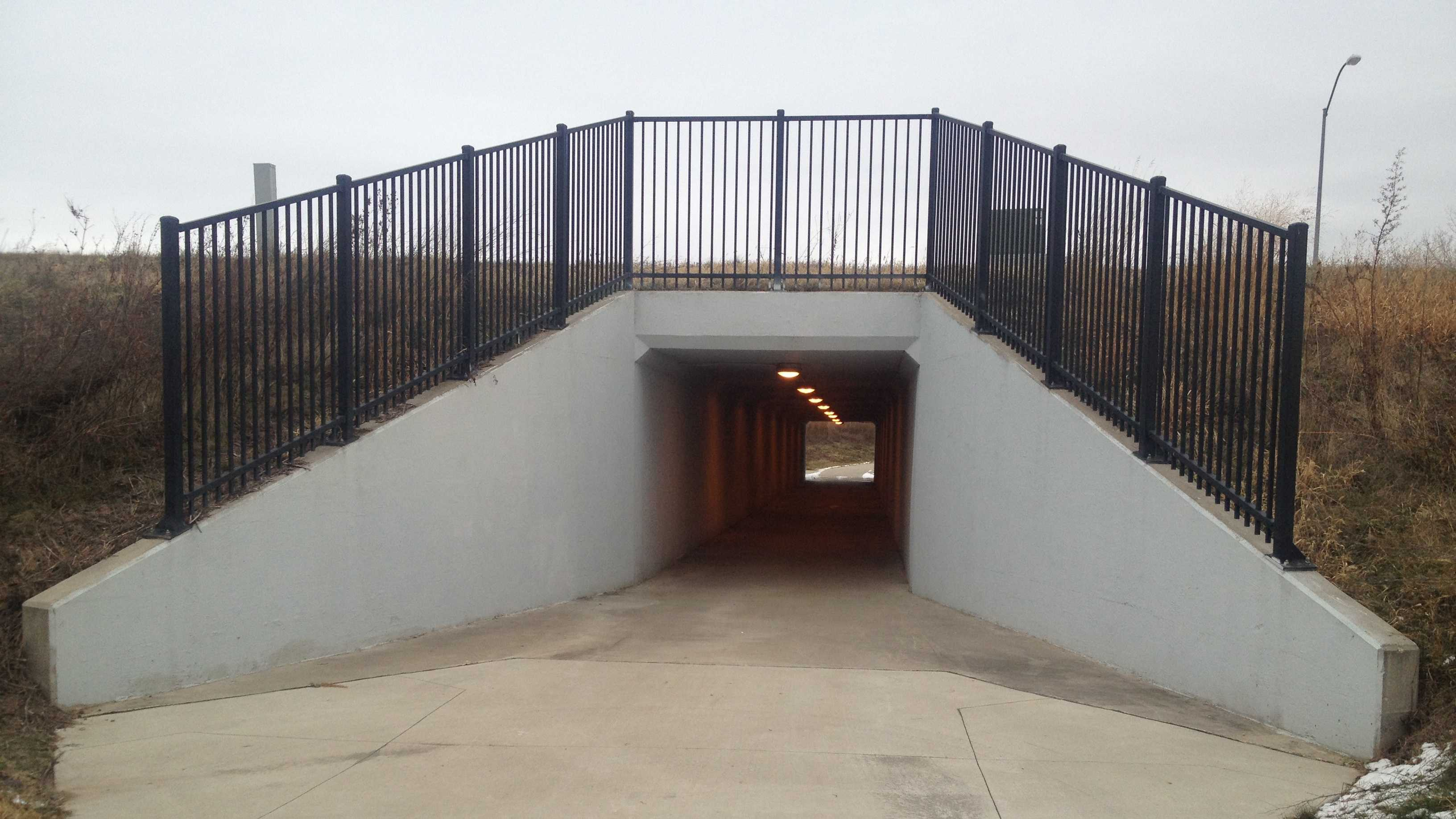 school tunnel west des moines