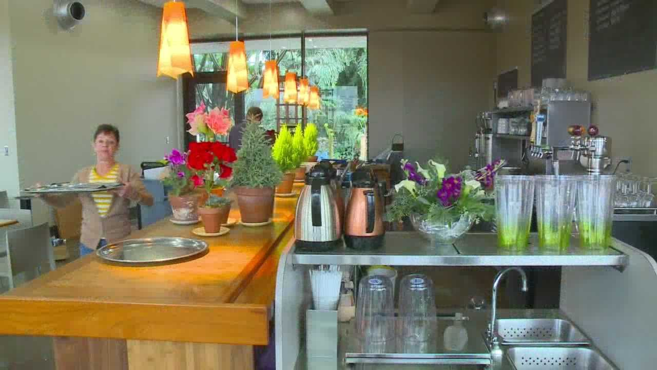 The new cafe -- Trellis -- is just part of the big changes underway now.