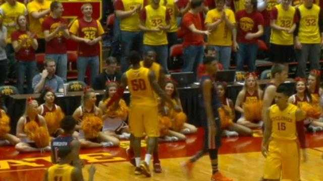 ISU runs wild over Auburn