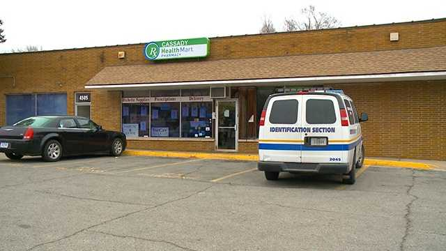 Robbery at Cassady Pharmacy in Des Moines