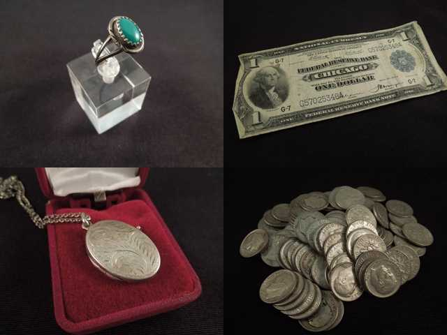 Some unclaimed treasures belonging to Iowans will be sold as part of an online auction.