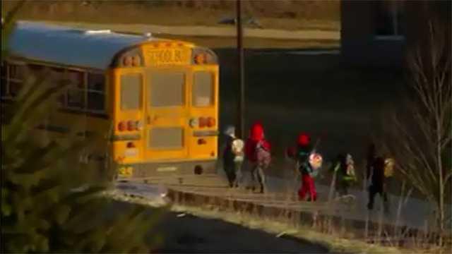 school bus blurry generic image