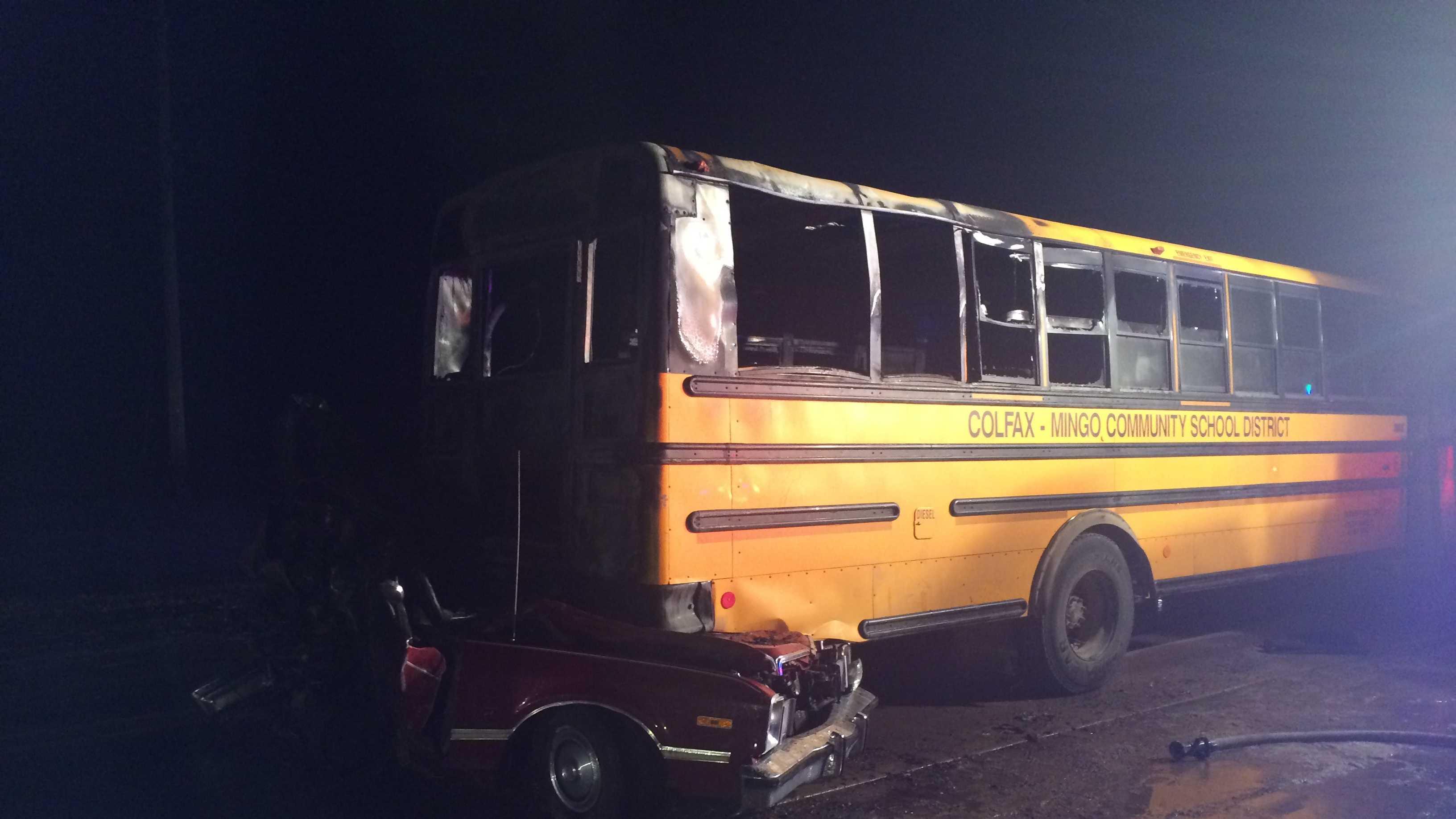 school bus 4 side shot