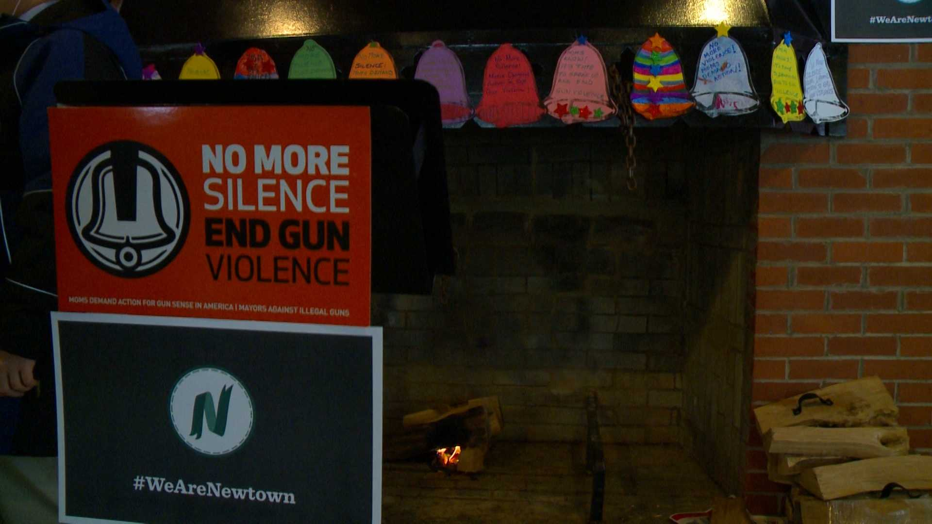 Central Iowans rally for No More Silence about gun violence