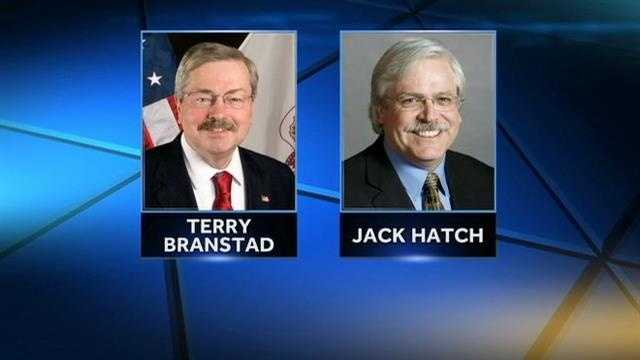 Governors race Iowa, Terry Branstad and Jack Hatch