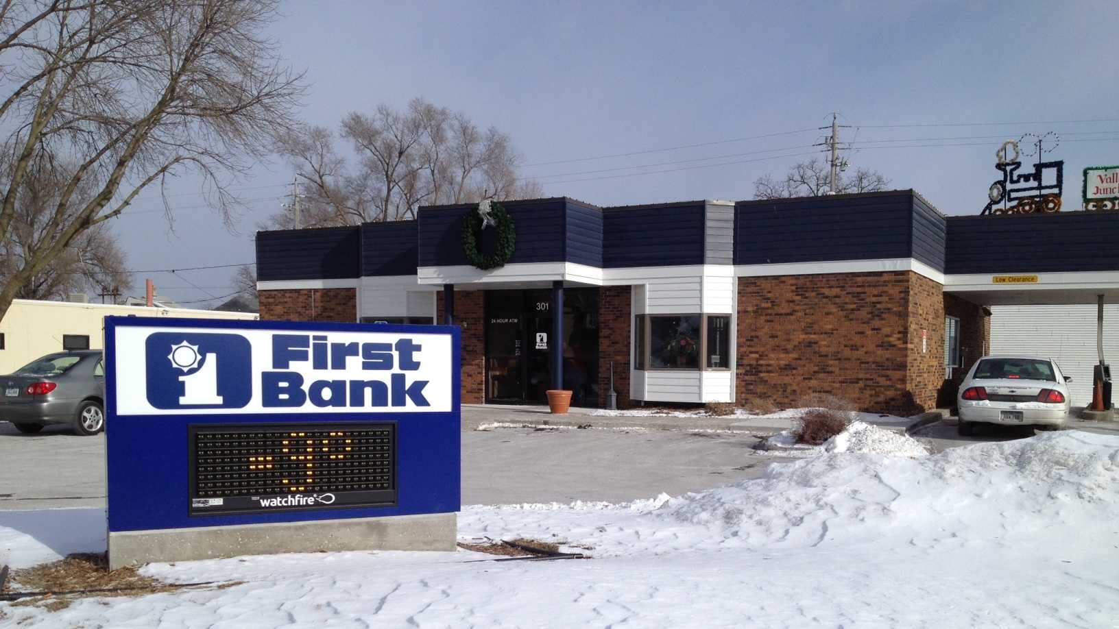 first bank robbery