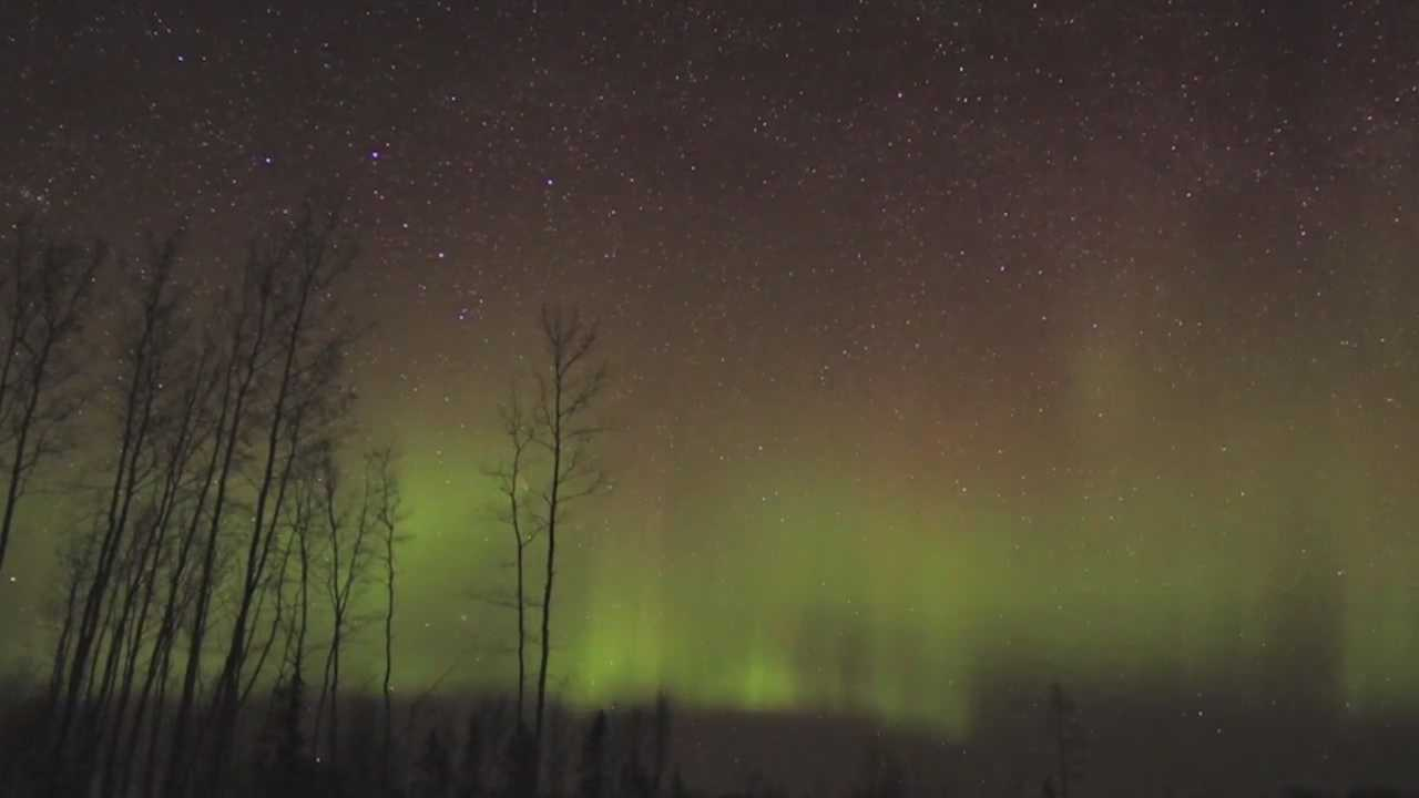 Iowans thawing out from a bitter freeze may get rewarded with shimmering northern lights the next couple days.