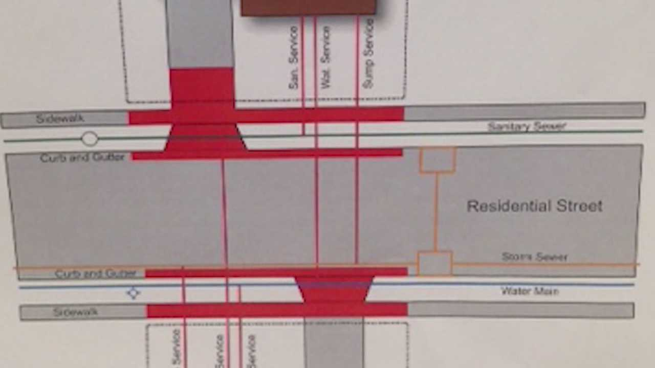 People living on two streets in Norwalk could be billed thousands for a street and sidewalk project.