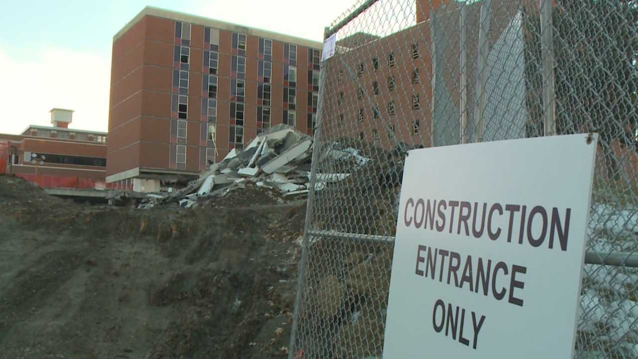 Implosion planned for downtown building