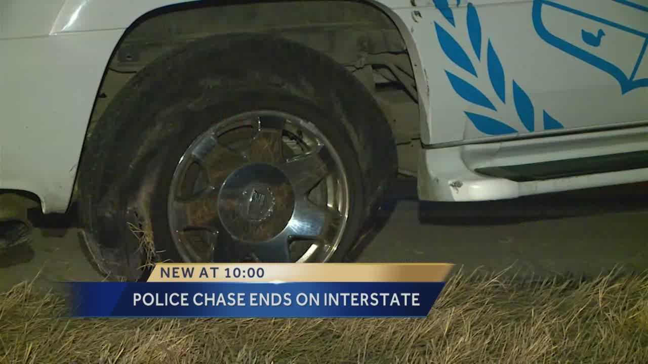 Suspect drives 4 miles on flat tire during chase