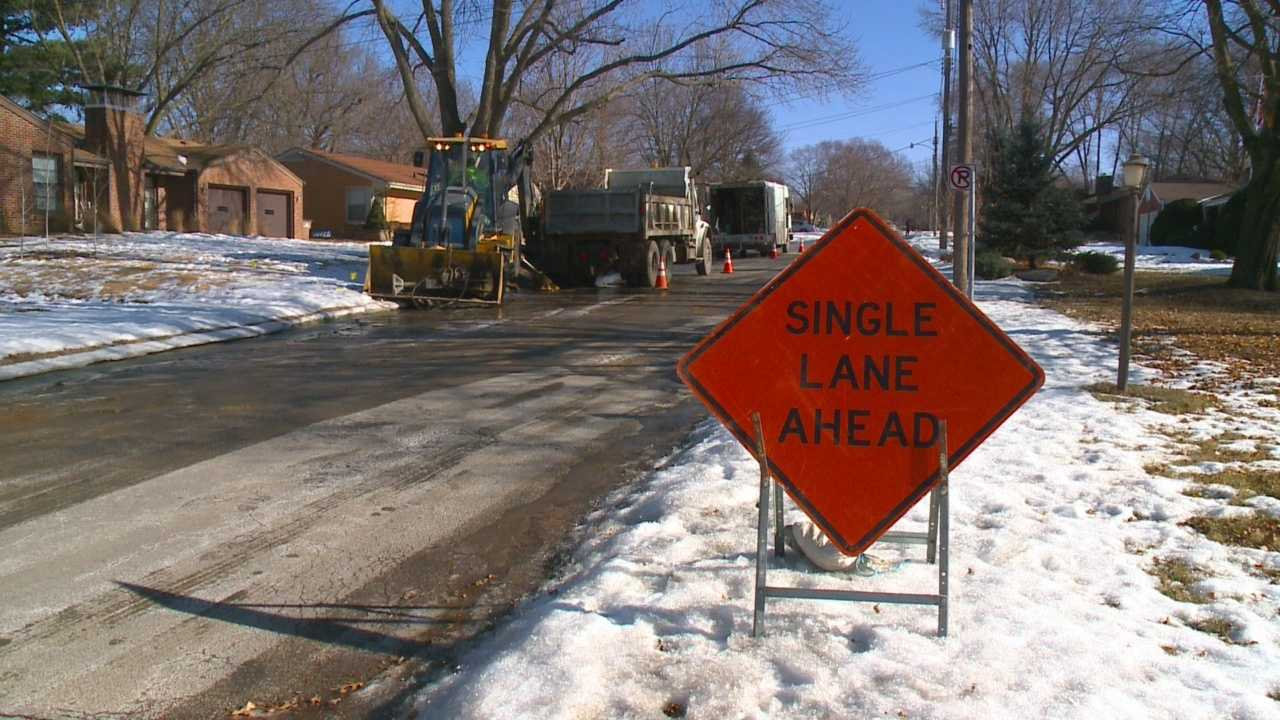 Aging pipes and extreme cold temperatures put extra pressure on water mains across the state.