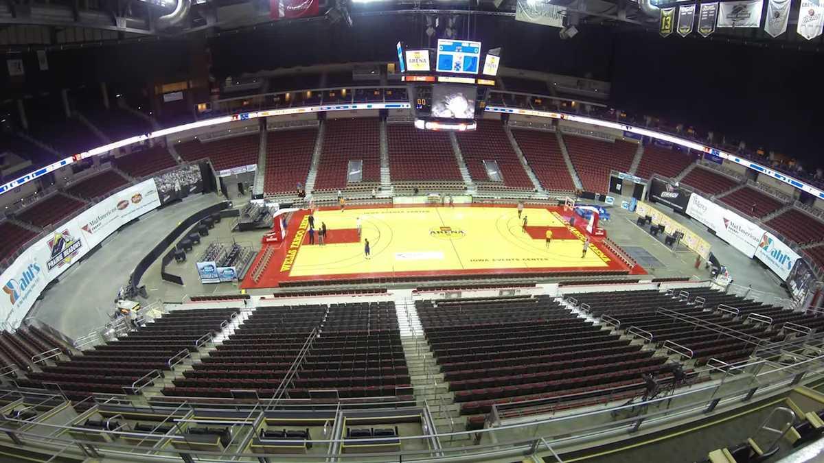 The Wells Fargo Arena is transformed