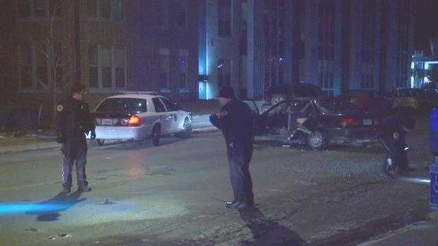 Court Ave hit-and-run collision