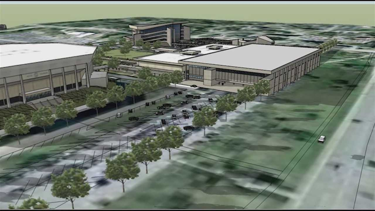 Ames Convention Center proposal