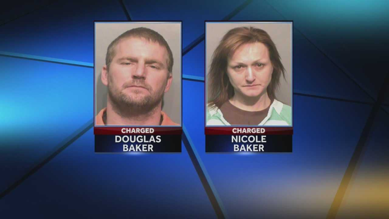 Des Moines police said three people are in custody in connection with a string of burglaries.