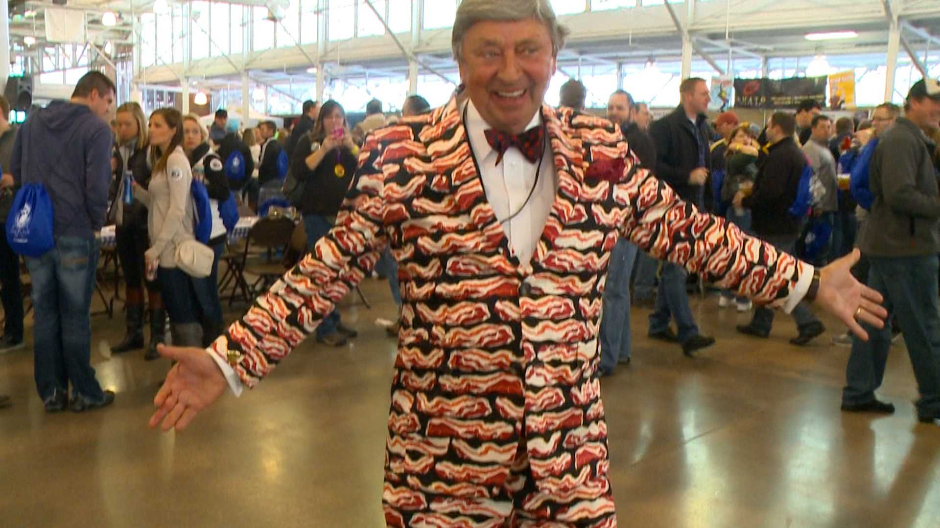 Blue Ribbon Bacon Festival brings out bacon fans