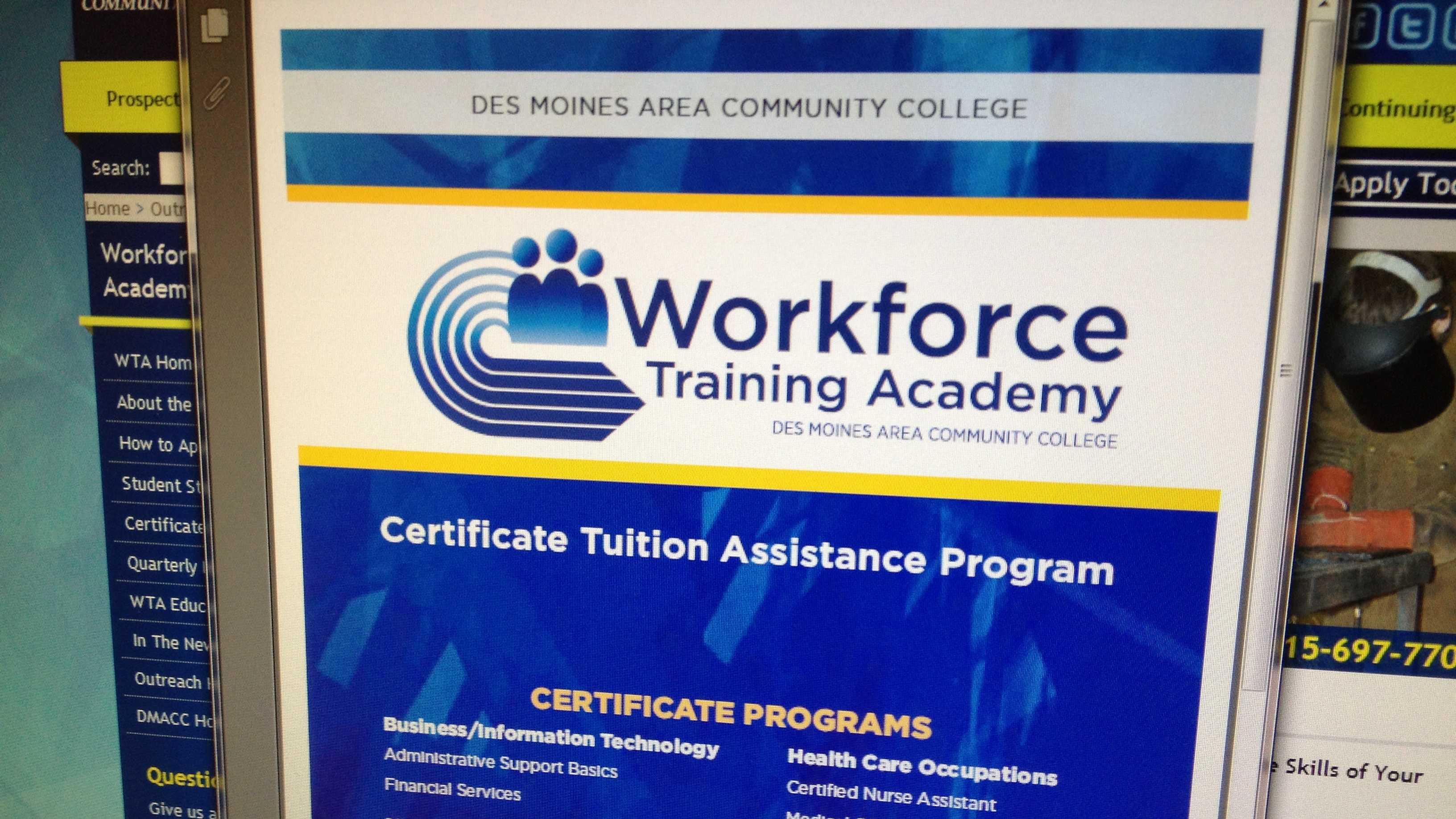 DMACC Academy flier