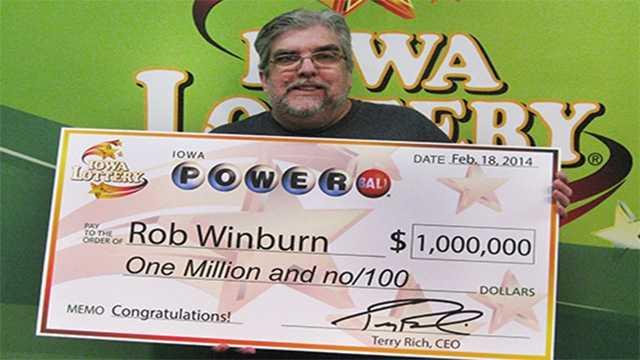 powerball winner winburn