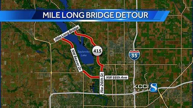 Mile Long Bridge map