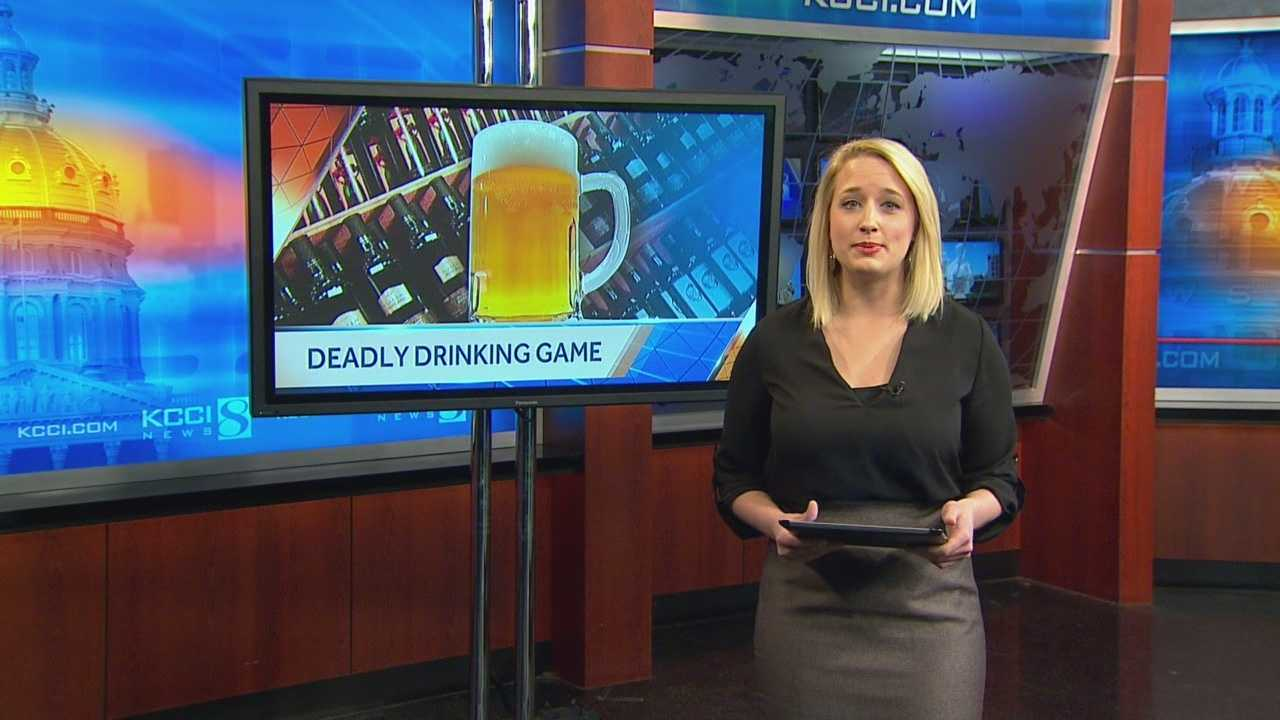 Deadly new drinking game comes to Iowa