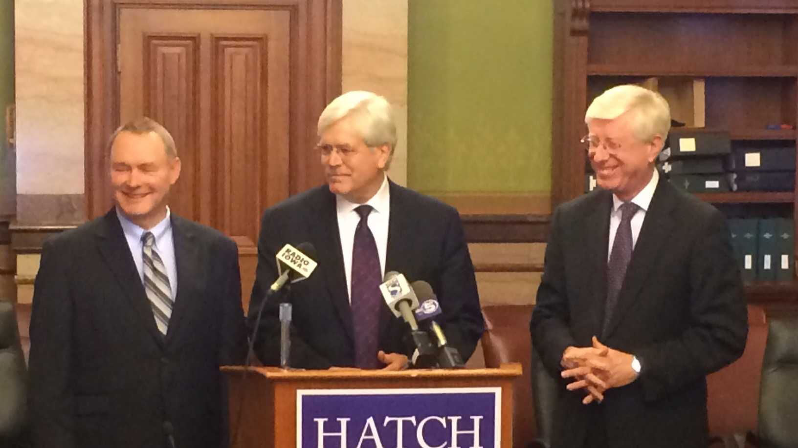 hatch news conference