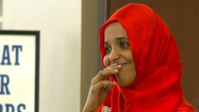Sadiya Omer emotional reunion