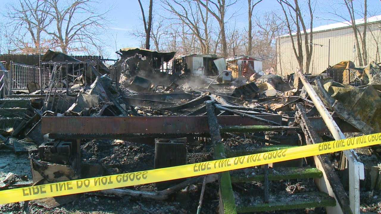 A man who was a friend to his neighbors died in fire in his home Monday.