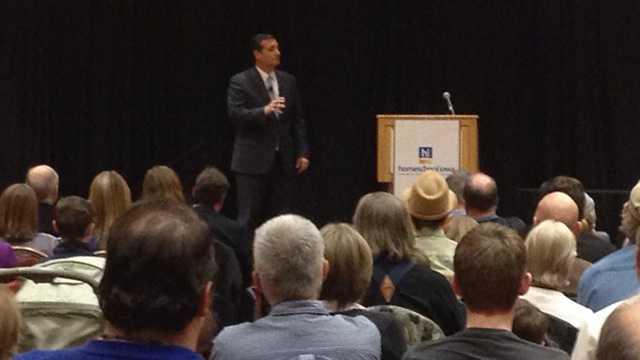 Ted Cruz speaking in Iowa