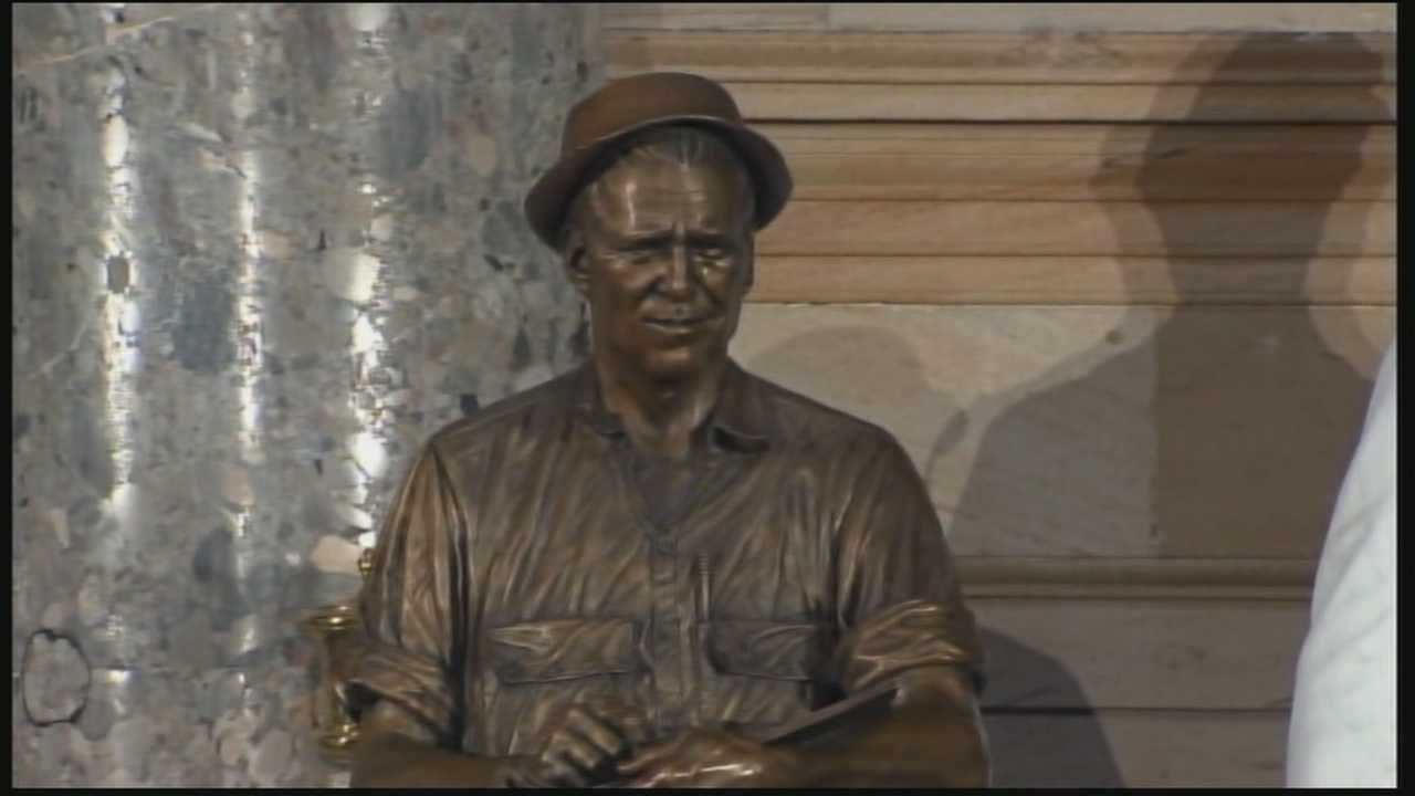 Norman Borlaug is being honored in Washington, D.C., with a new statue at the Capitol.