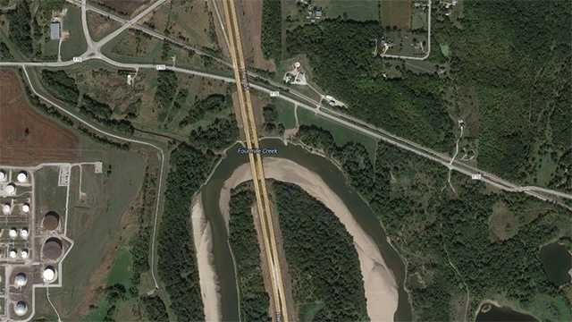 Highway 65 at Des Moines River