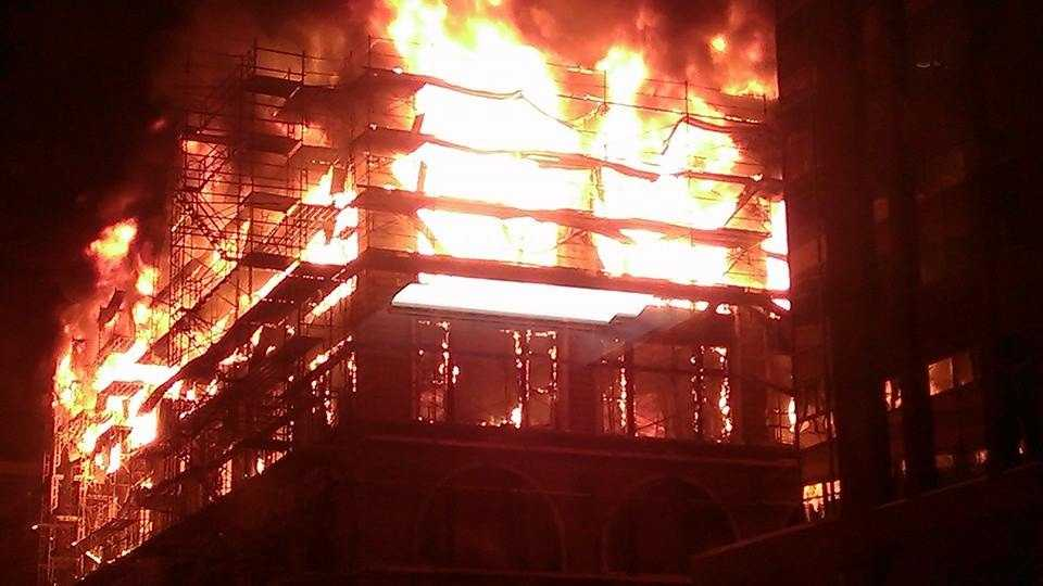 Photos: Younkers fire slideshow